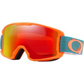 Oakley Line Miner goggles Kinderen rood/bont